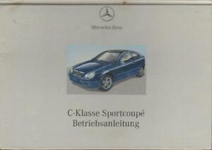 MERCEDES-SPORTCOUPE-CL203-Betriebsanleitung-2000-Handbuch-Bordbuch-C-Klasse-BA