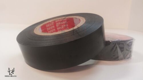 Quality Electrical insulation tape PVC ROLL insulated Adhesive ISOLIERBAND 66ft