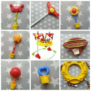 Pole Toys Frame Unit Seat Pad Spring BGRJUMP Red Kite Jumperoo Spare Parts