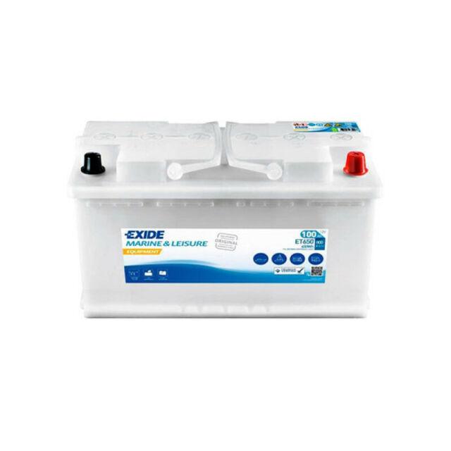 Exide Equipment ET650 100Ah 12V Versorgungsbatterie Solarbatterie