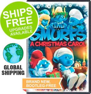 Smurfs Christmas.Smurfs Christmas Carol Dvd Xxxx New Animated 43396410145 Ebay