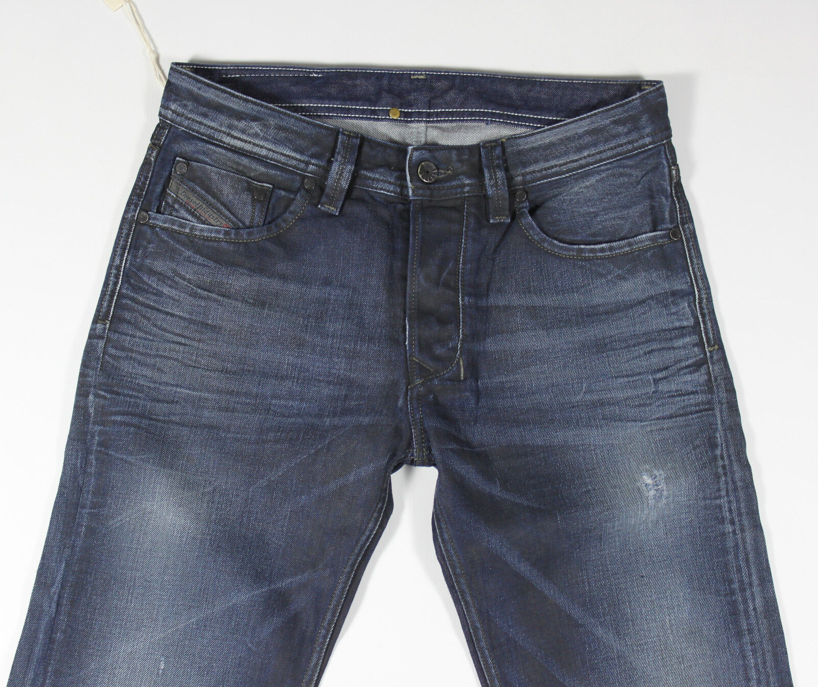 DIESEL Nuovo di di di Zecca Larkee 880 F Jeans 0880 F 28X30 Regular Fit Straight Leg da3160
