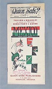 Details about Vintage Map Booklet -- Mexico - West Coast Route -- Quin Sabe  Publishers