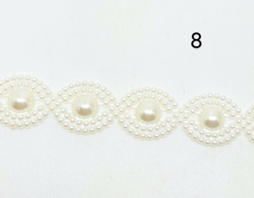 Reino Unido Vendedor MAZ1019 Tarjeta Artesanía haciendo bricolaje Pastel Ajuste De Perlas Con Diamante Boda