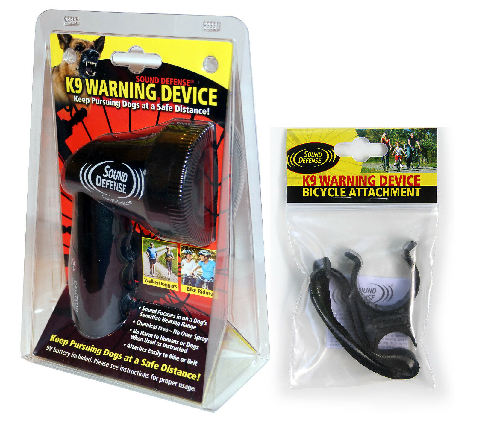 Dog Horn Deterrent Repellent and Loud Bike Horn - Bike Accessories Set