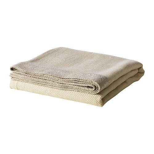 IKEA Henrika Throw Very Soft Blanket Light Beige EBay Mesmerizing Ikea Fleece Throw Blanket