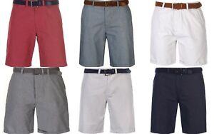 Nouveau Homme Pierre Cardin Belted Shorts Denim Taille 2XL