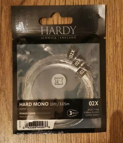 Hardy Hard Mono 02x 10ft power Taper Leader 20.2lb