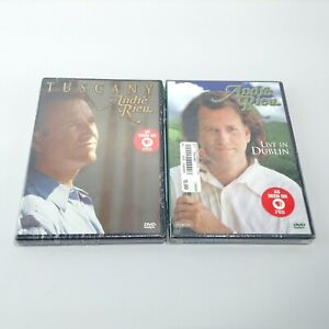 NEW SEALED LOT ANDRE RIEU Live in Dublin Train Terminal PBS (2003,DVD) + TUSCANY