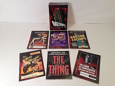 Breygent Sci-fi /& Horror Movie Posters 2 Album Binder with Pages Mint /& Sealed