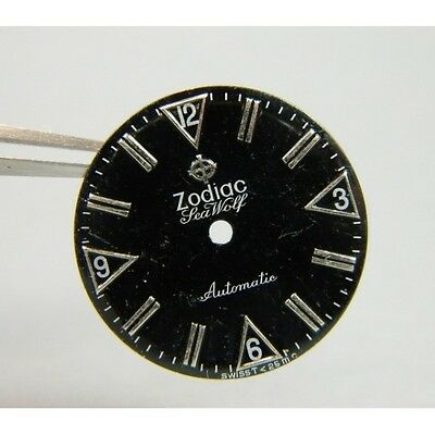 Other Watches Watches, Parts & Accessories Cadran Zodiac Sea Wolf Bracing Up The Whole System And Strengthening It