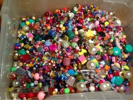 Perler/plader, perler , blandet