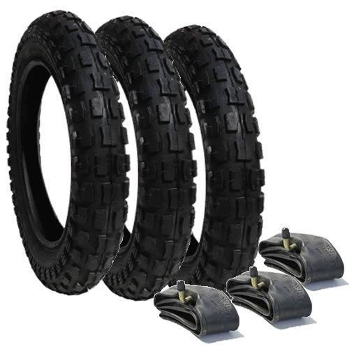 Conjunto De Neumáticos /& Tubos Para Out n Acerca Nipper Cochecitos de 12 1//2 X 2 1//4