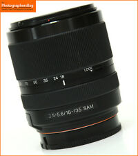 Sony 18-135mm F3.5-5.6 DT SAM Autofocus Zoom Lens + Free UK Postage