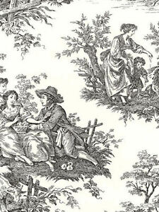 Waverly-Country-Life-Toile-Wallpaper-in-Black-and-Cream-Double-Roll-564303