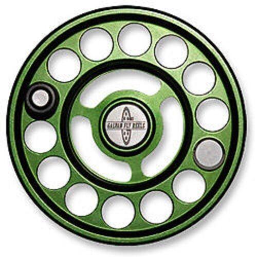 Nuevo Galvan R-4 Cocherete De Repuesto Para Luz De Rush 4 Reel verde para 4-5 WT Envío Gratuito