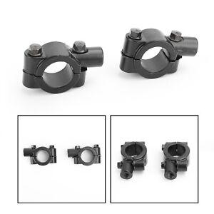 Paire-de-support-retroviseur-10mm-CW-Pour-Moto-Enduro-Quad-scooter-22mm-guidon-F