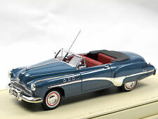 TSM Model 1949 Buick Roadmaster Convertible Mariner Blue 1/43 TrueScale