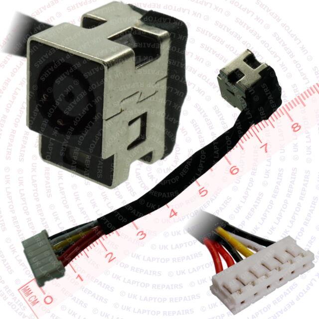 Compaq Presario CQ70-116EM DC Jack Socket with Harness Cable Connector