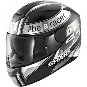 Casco-Helmet-SHARK-D-SKWAL-Sam-Lowes-Mat-Black-Anthracite-White-T-M