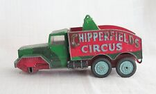 Corgi # 1121 camión grúa Chipperfields Circus 6X6 camión Diecast 1960-64
