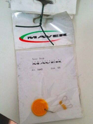 2 BUSTINE STOPPER MAVER TRASPARENTI PER GALLEGGIANTI ALL'INGLESE O TRAVI SS-OG25