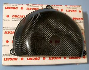 DUCATI-748-916-996-CARBON-RACING-CLUTCH-COVER-LAST1-NO-MORE