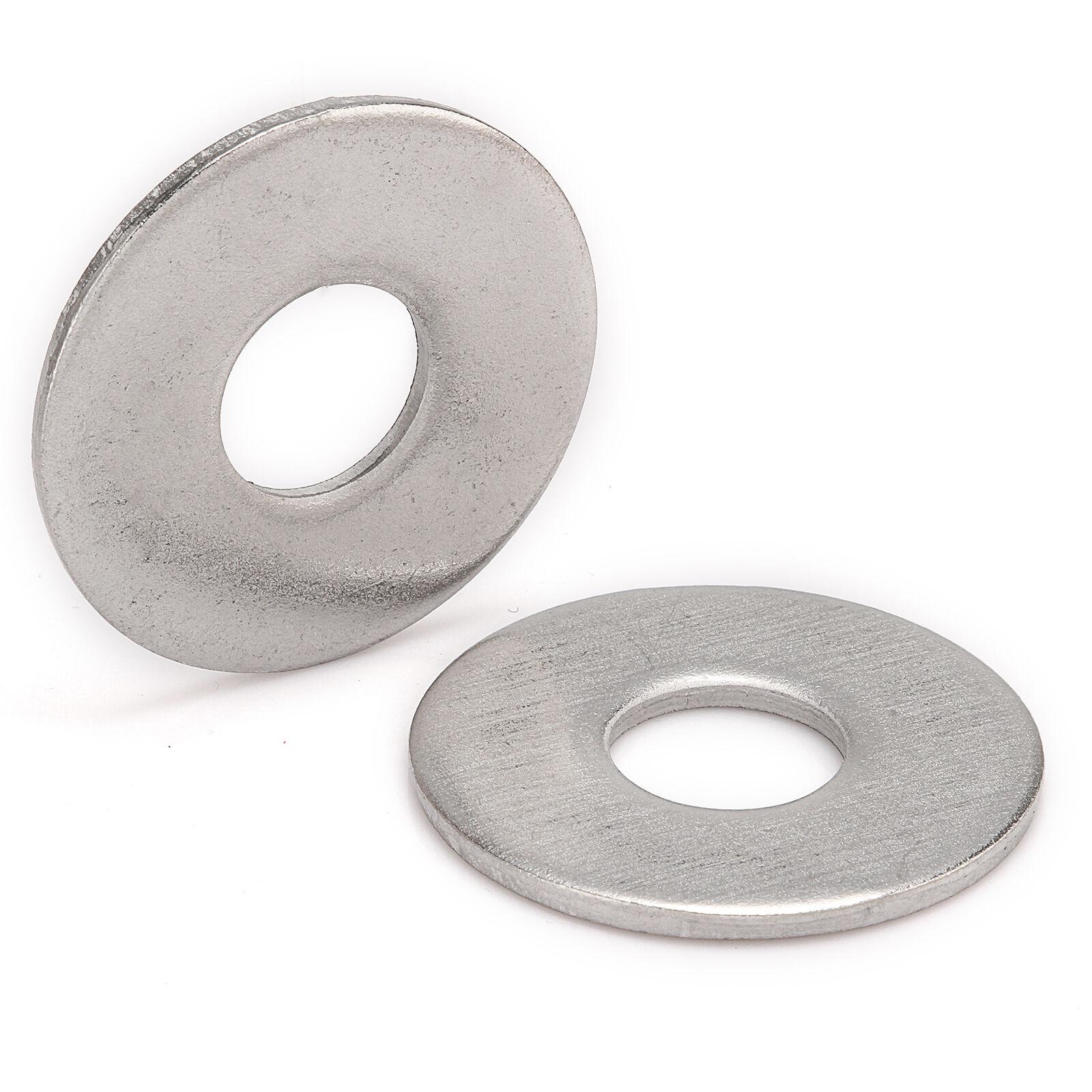 M3 M4 M5 M6 M8 M10 M12 M14 M16 M20 A2 Stainless Steel Penny Repair Flat Washers 8