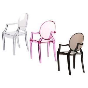 1-6-Doll-House-Miniature-Simulation-Armchair-Plastic-Chair-Decoration-GD