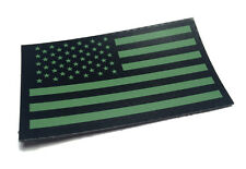 Infrared US Flag Patch IR US Army Navy USN USAF SEAL Green Velcro
