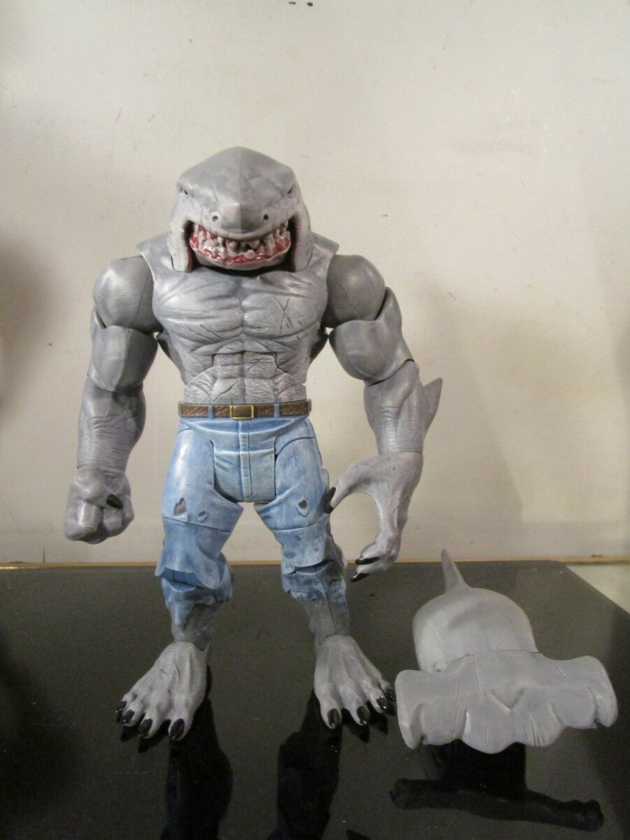 DC Comics Comics Comics Multiverse King Shark BAF Complete + Exclusive Alternate Hammerhead 14b259