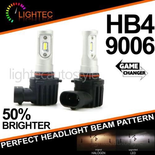 SUPER SLIM LED CONVERSION CAR HEADLIGHT BULBS KIT 5700K XENON WHITE V10 NEW