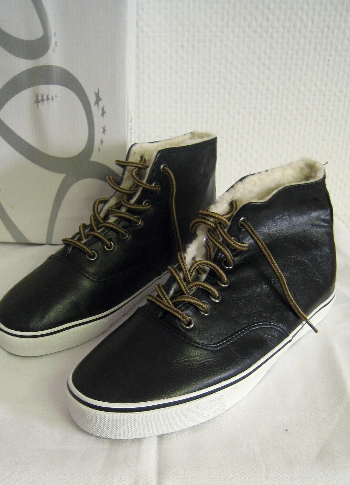Chaussures Femmes High-top baskets Noir ab0060 12 Paire   Paire Stock
