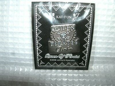 Entertainment Memorabilia Selfless New Kat-tun Idol Queen Of Pirates Pin Badge Official Goods F/s Japan Good Heat Preservation