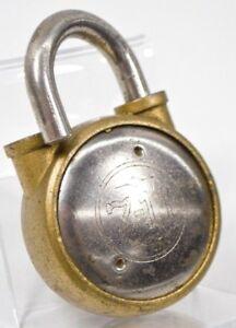 "8151 NEW OLD STOCK 7//8/"" DIAMETER EAGLE 711 BRASS DRAWER LOCK w//TWO KEYS"