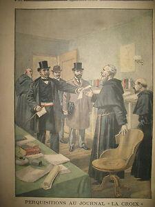 PERQUISITION-JOURNAL-LA-CROIX-DEROULEDE-VOITURE-CELLULAIRE-LE-PETIT-JOURNAL-1899