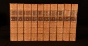 1857-60-10v-Collected-Works-Hallam-Constitutional-History-Middle-Ages-Literature