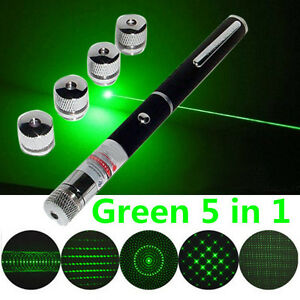 Green 5 In 1 Presenter Powerpoint Laser Pointer