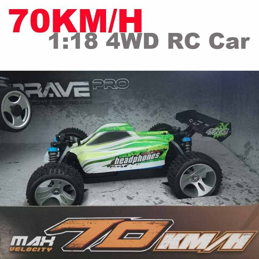 70km/h A959-B 2.4G high-speed RC car 4WD 1:18 off-road vehicle drift toy
