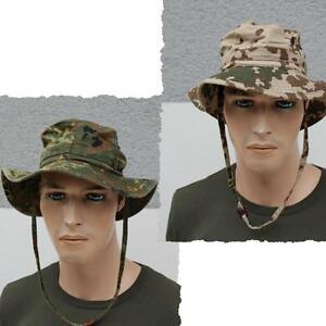 Highlander 100/% Coton Premium chapeau de soleil en plein air seau Outdoor Festival Pêche