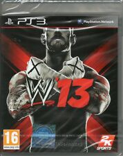 WWE '13 Juego de lucha PS3 (2013) ~ NEW / SEALED