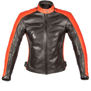 Spada-Turismo-Autumn-Sun-Ladies-Leather-Motorcycle-Jacket-Waterproof-Womens-Bike