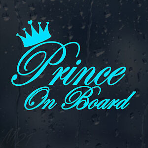 Prince-On-Board-Car-Decal-Vinyl-Sticker-For-Bumper-Panel-Window