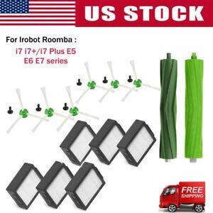 Hepa Filter Side Brush Brush Roll For Irobot Roomba I7