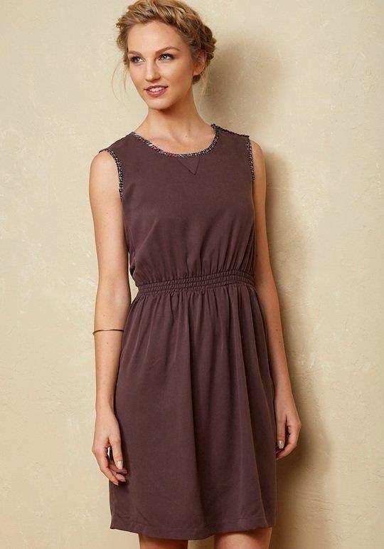 Matilda Jane MIRANDA Dress Medium M Brown Tensile Women's Friends Forever NWT