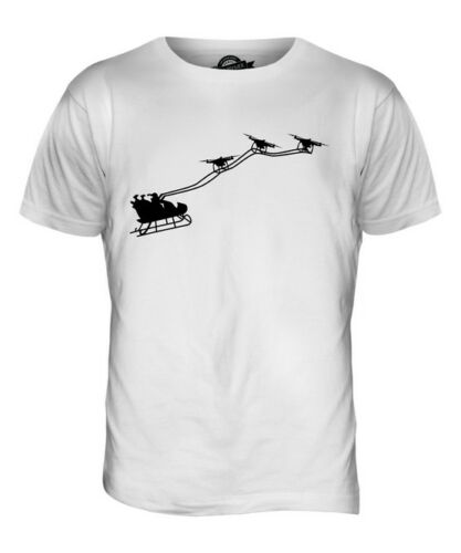 DRONE SANTA MENS T-SHIRT TEE TOP GIFTCHRISTMAS CLAUSE