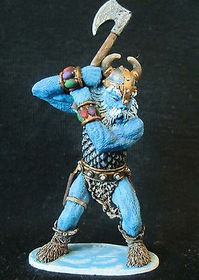 D&D Miniature Frost Giant Grenadier - Stunningly Painted by Ken Longacre !!  s33