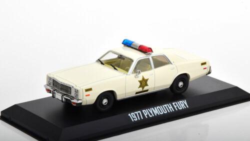 1:43 Greenlight Plymouth Fury Hazzard County Sheriff 1977