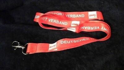 Methodisch Dmv Deutscher Motorsport Verband Lanyard Schlüsselband Cardholder Extrem Effizient In Der WäRmeerhaltung