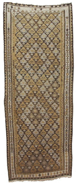 274x110 cm antik orient Teppich kaukasische Nomaden  kelim kilim Nr-415